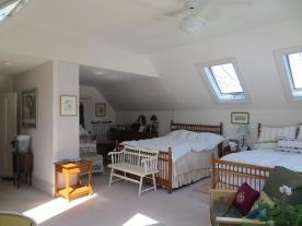 Huge bedroom.